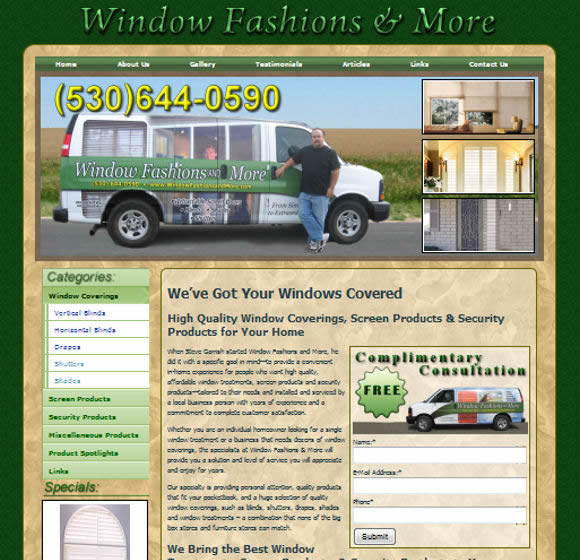 Window Fashions and More